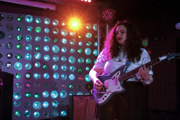 Palehound plays at Baby's All Right in Williamsburg, Brooklyn, New York on June. 27, 2017. (© Michael Katzif - Do not use or republish without prior consent.)