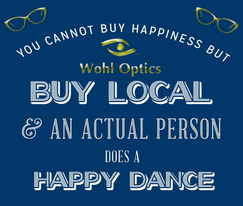 Buy Local and this Optician Does a Happy Dance