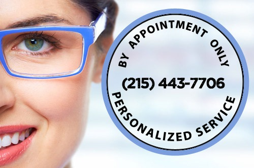 Seeing patients by appointment only at wohl Optics Warminster PA