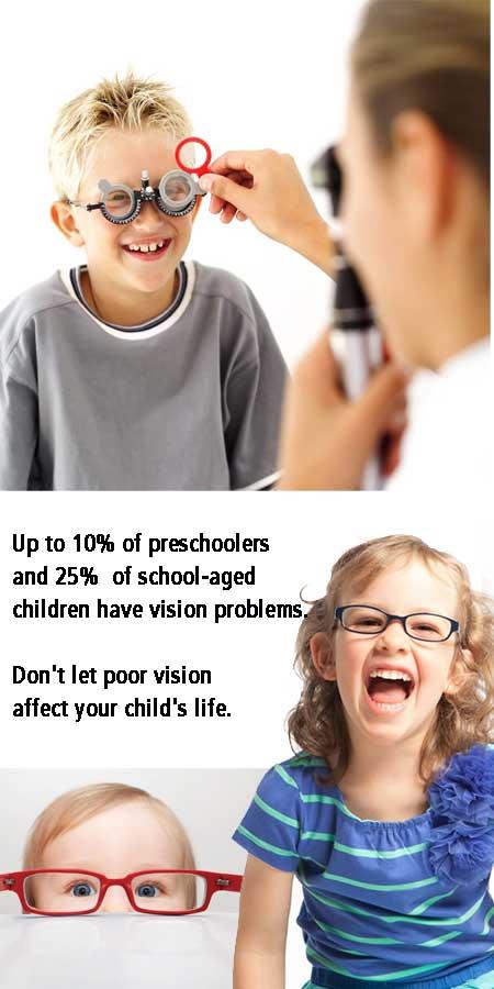 Children Need Eye Exams