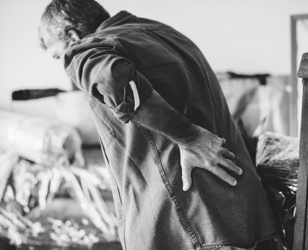 back pain relief from personal or work injury in tarpon springs