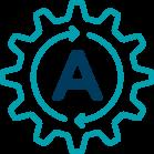 Automatic Coil Wrap Icon
