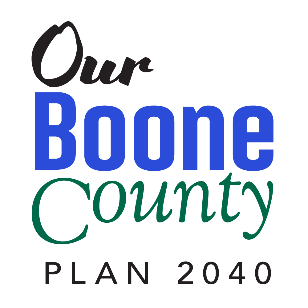 Our Boone County Logo, Plan 2040
