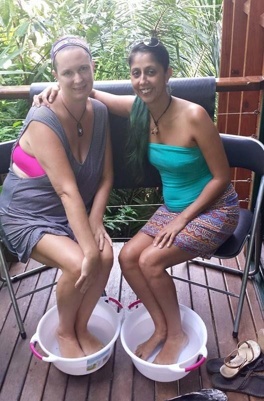 Partner Foot Bath