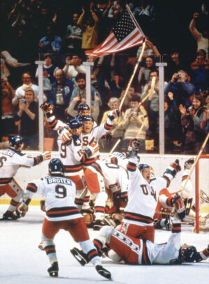 winning USA hockey team