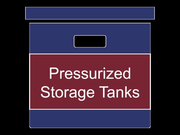 Pressurized Storage Tanks