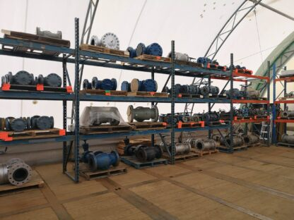 14,000lb Heavy Duty Adjustable Pipe Racks Roska DBO Rental