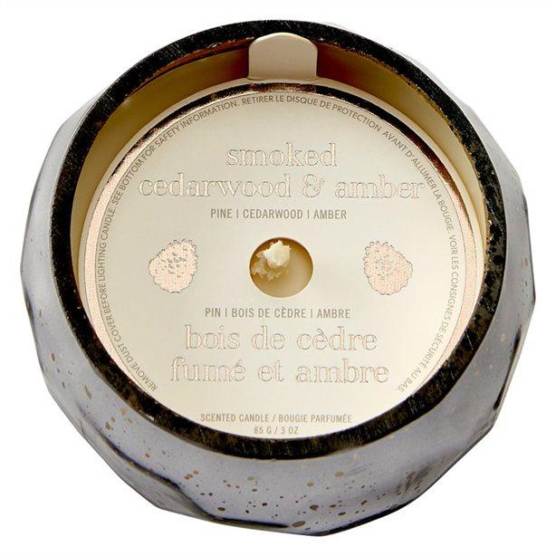 Mini Mercury Candle - Smoked Cedar Wood & Amber, $11.00