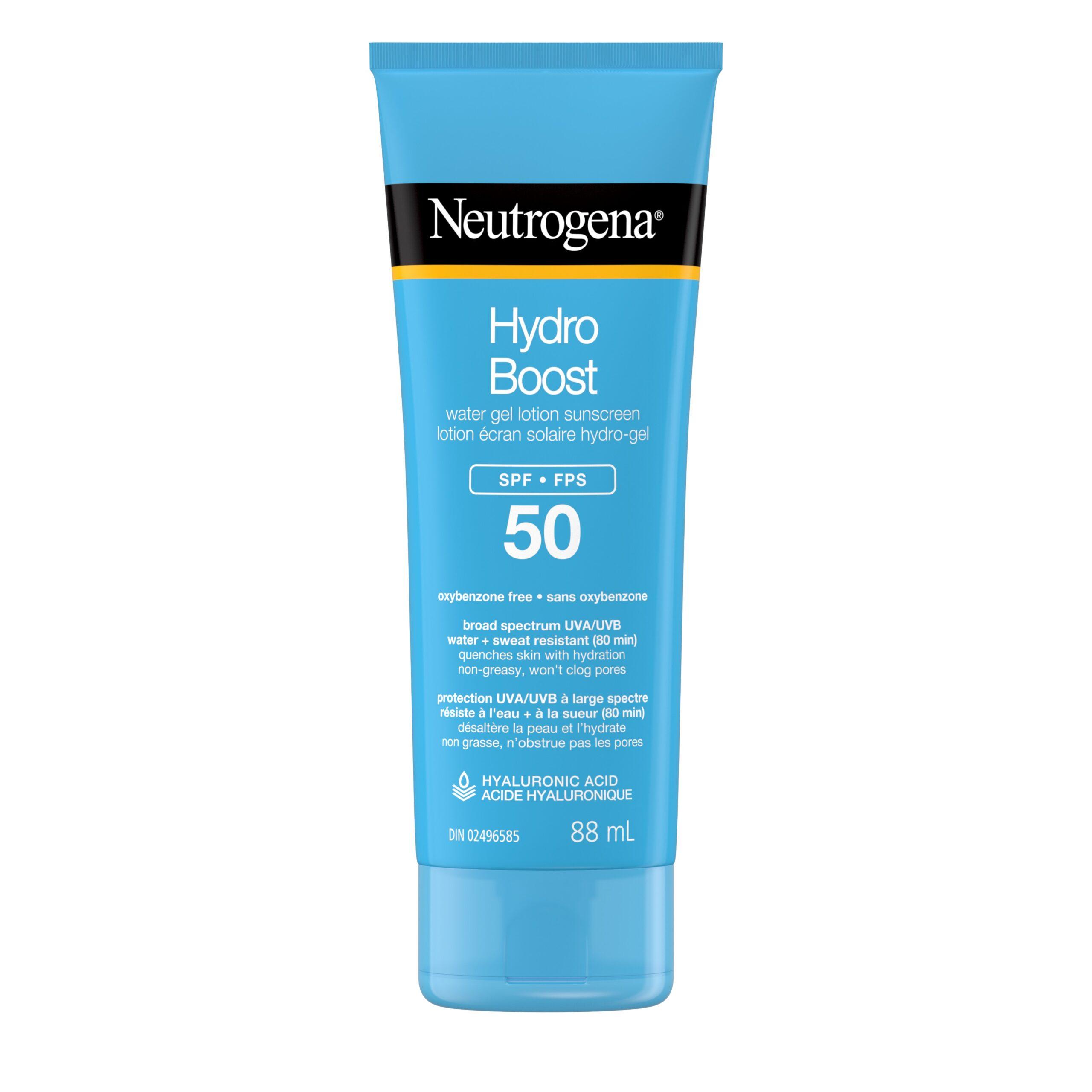 Neutrogena Hydro Boost Water Gel Sunscreen - $15.97 - $18.99 CAD