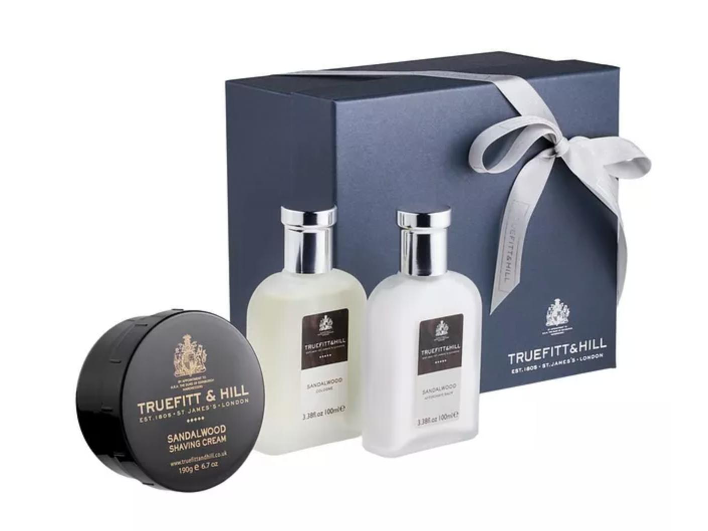 Harry Rosen Sandalwood Classic Shave Gift Set by Truefitt & Hill - $193.00 CAD