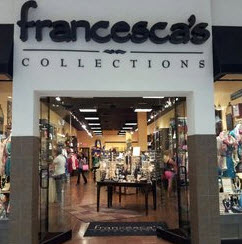 francesca's collections entrance
