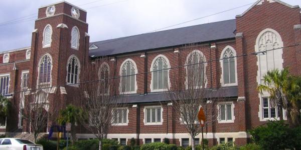 Riverside Christian Church interior renovation