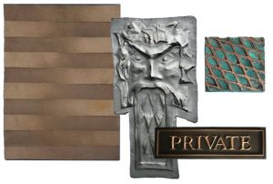 collection of specialty metal finishes bauer fabrication and art metal waterbury vermont