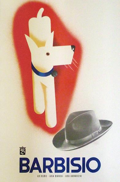 1948 Italian Art Deco Poster by Faentine