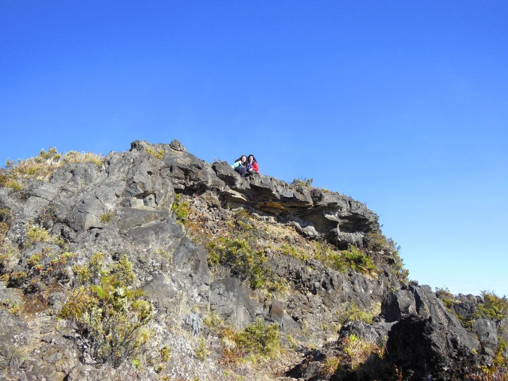 On top of Haieakala Crater