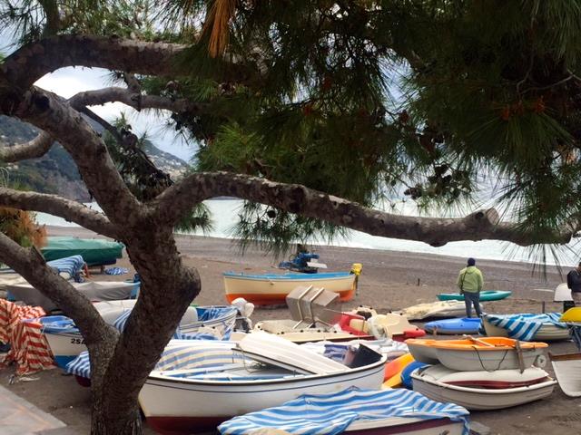 Beach in Positano