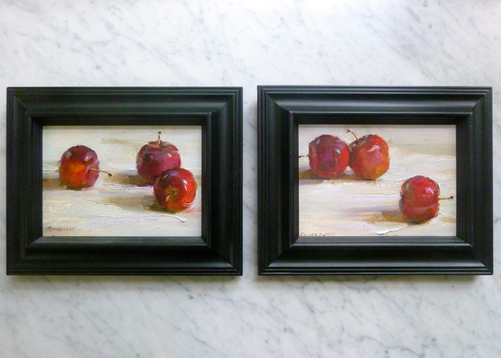 Apples #1 and #2 by Beth Rundquist