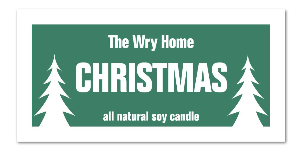 Holiday Candle 2021 Christmas