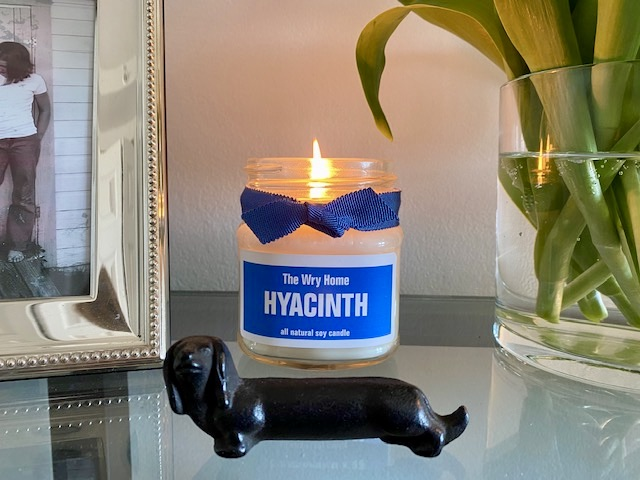 The Wry Home Spring Summer Hyacinth 2021 Candle
