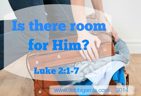 Is there room for Him?