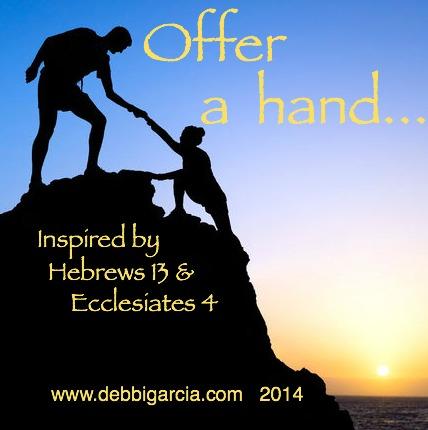 Offer a hand