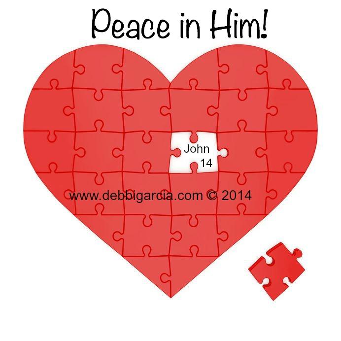 Peace in Him