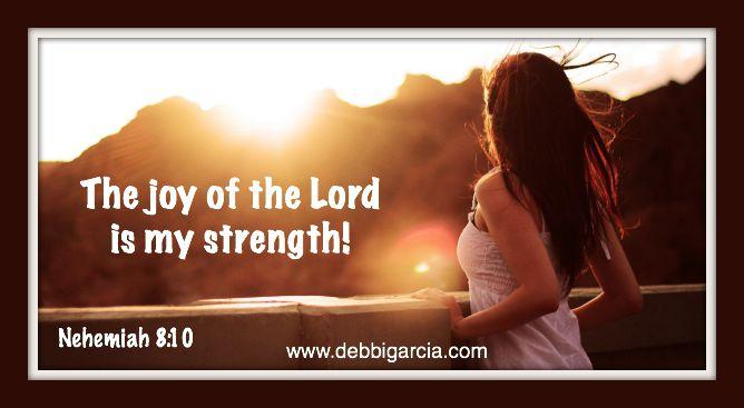 He is my strength…