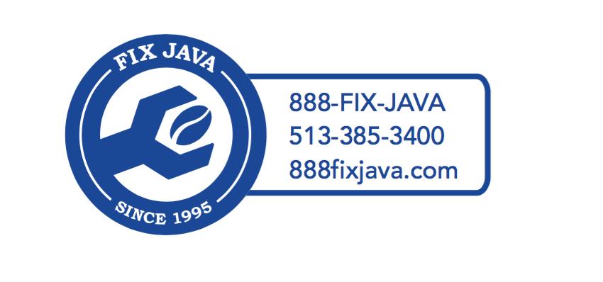 888 FIX JAVA sticker