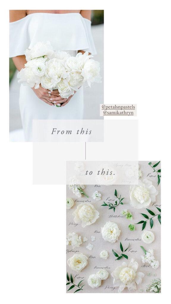 dallas wedding bouquet preservation