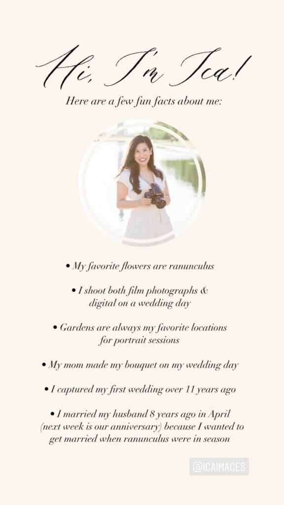 ica images wedding photography