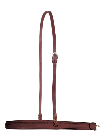 2000-CH noseband chocolate leather