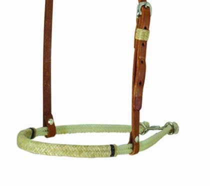 2005-HBI noseband double rope rawhide braided
