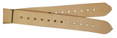 "M-102 2-1/2"" x 72"" Golden stirrup leathers"