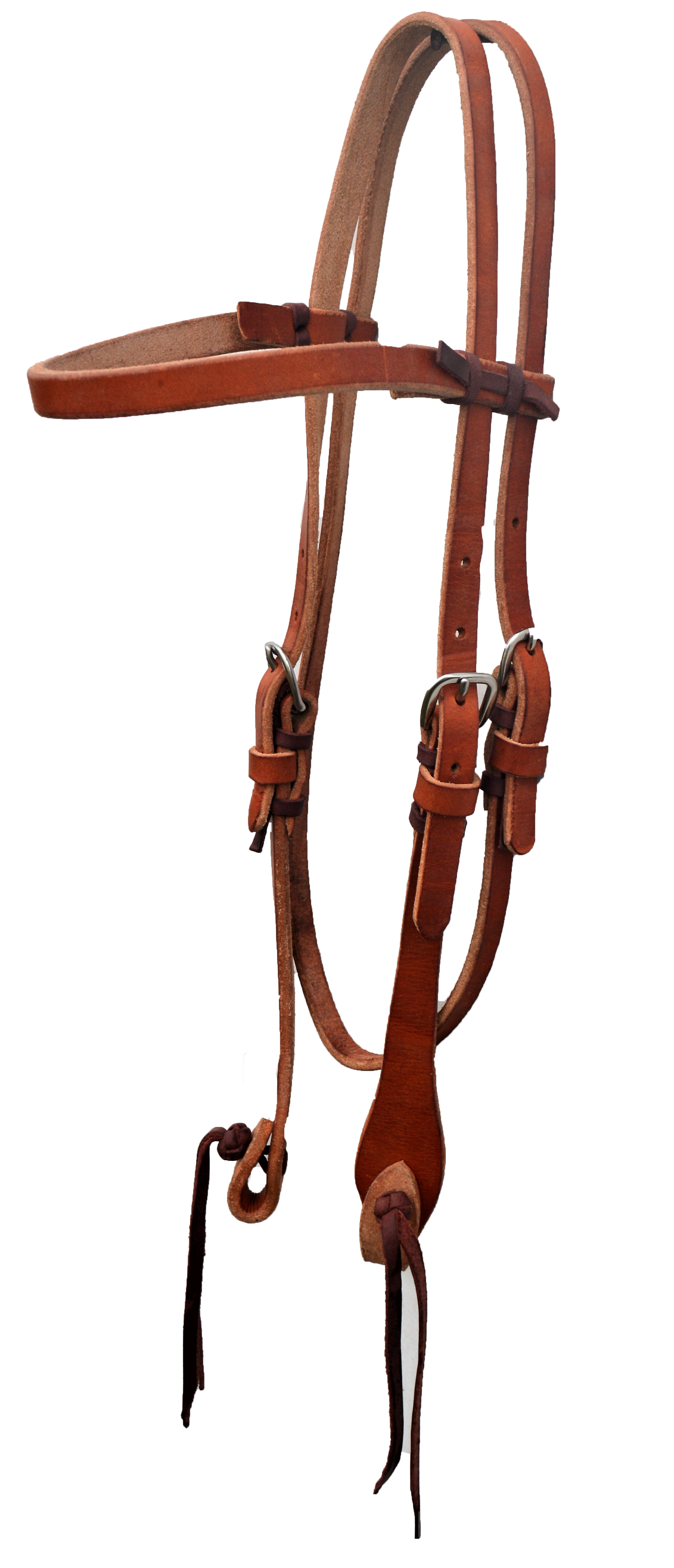 E-2032-PK Elite headstall with pineapple knot