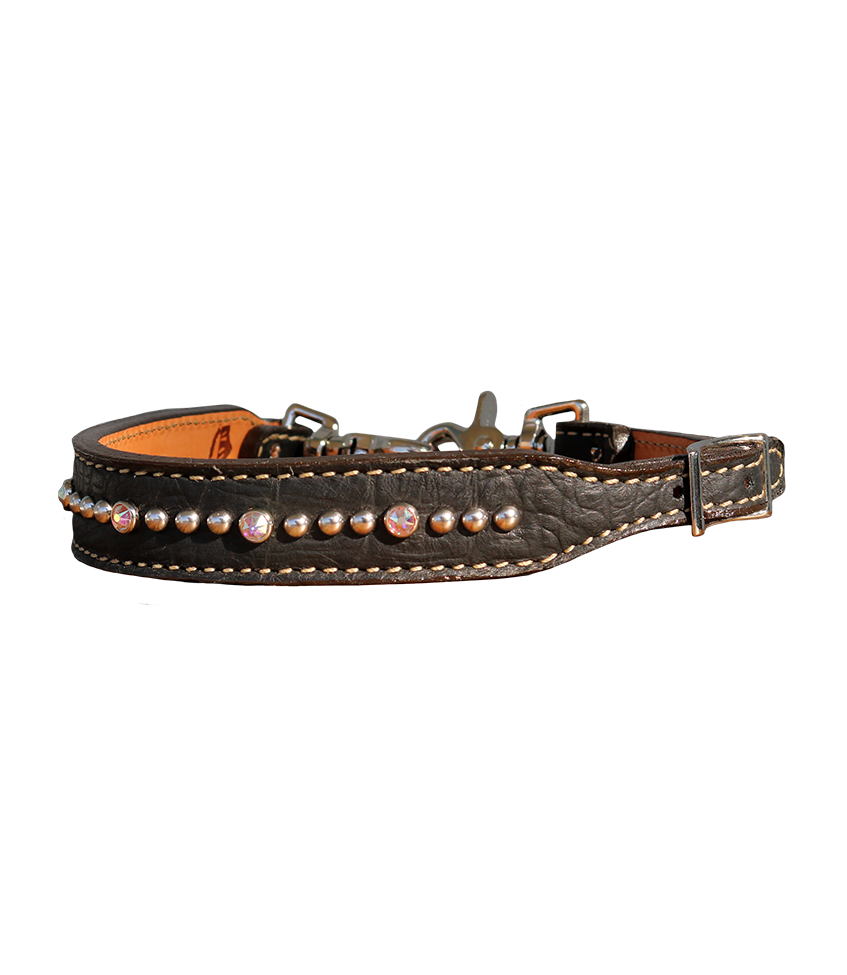 200-JGA Black gator wither strap
