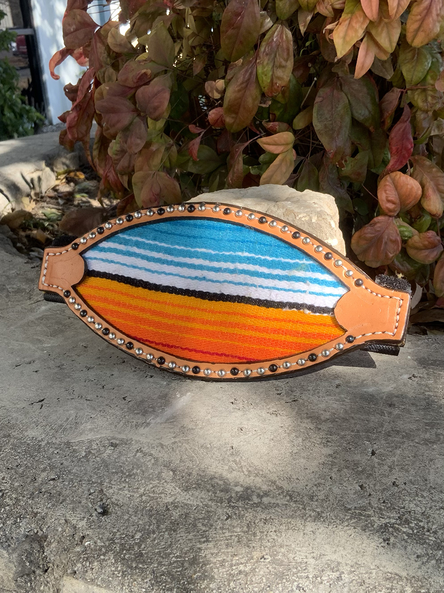 4310-SERAPE  Bronc nose with serape