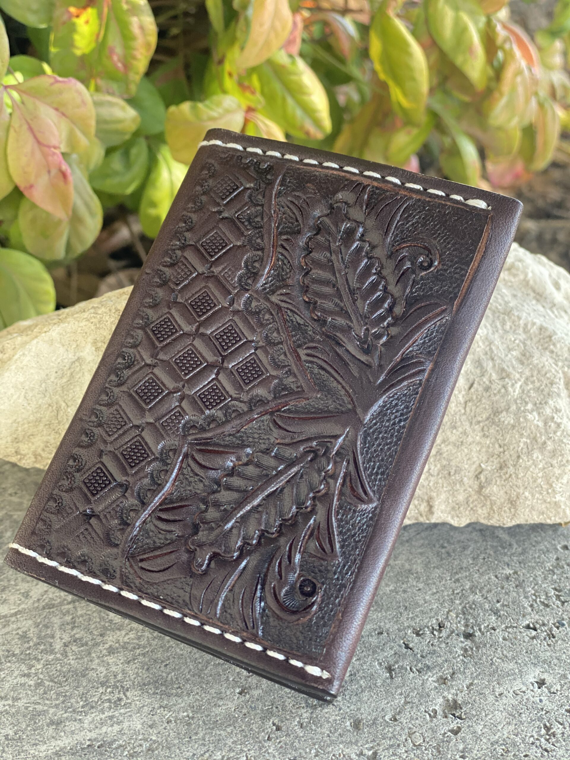 Card Holder chocolate combo tooled