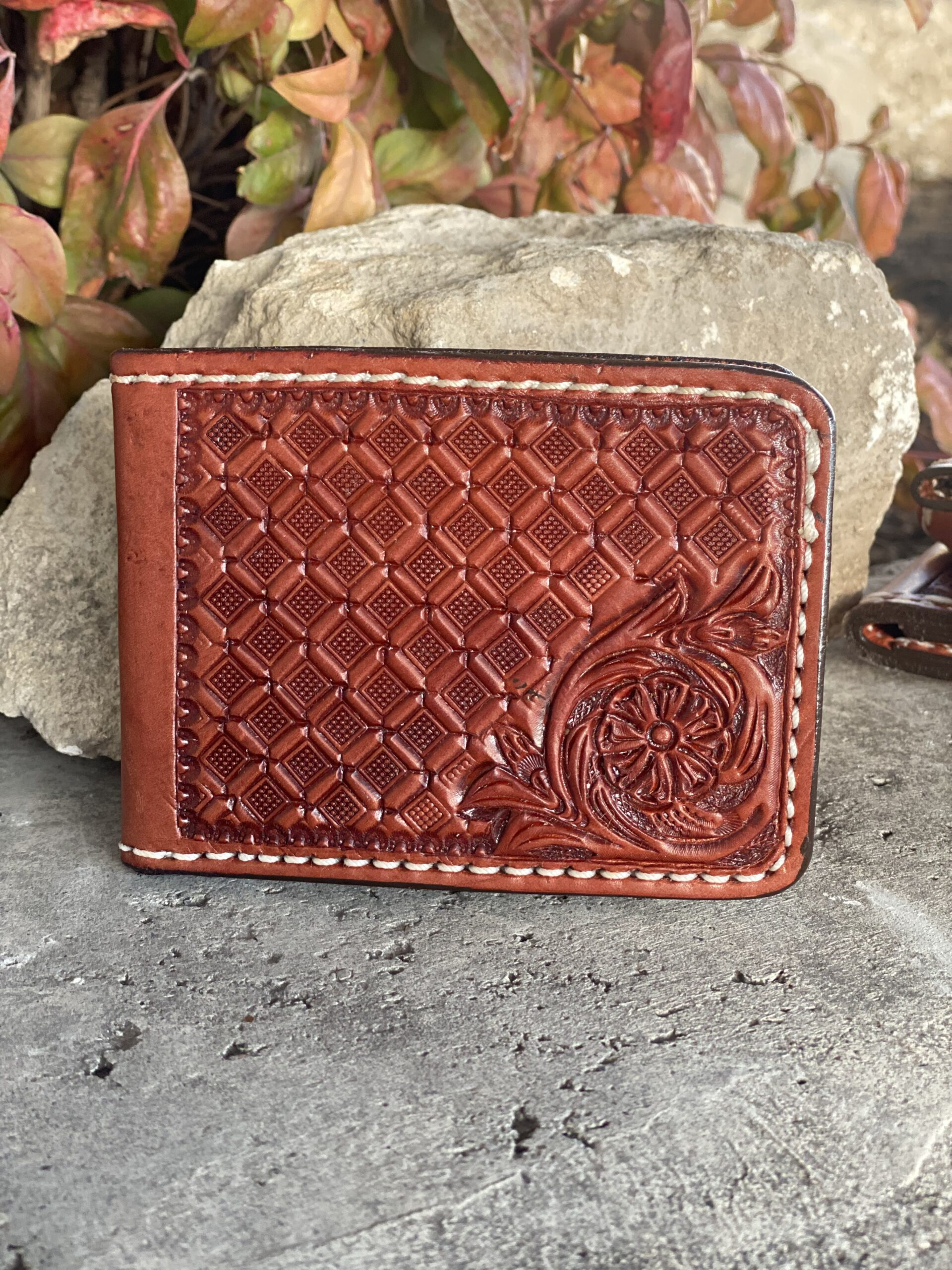 Combo Tooled wallet