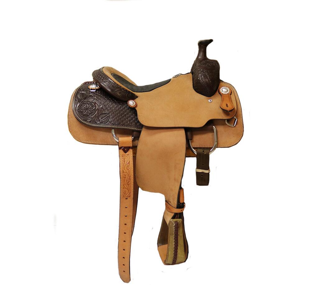 <B>14.5in</B><P>SD17 Roper saddle</P>