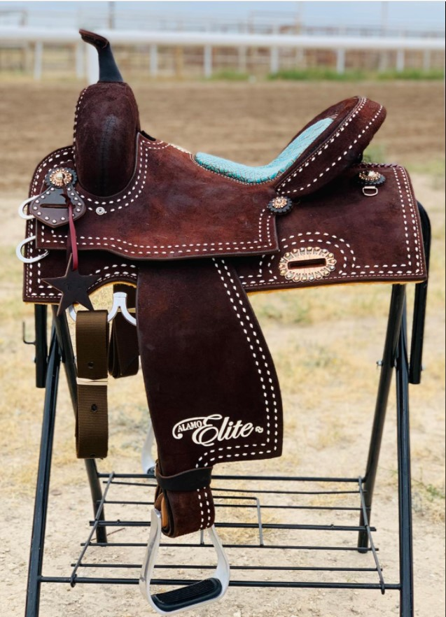 <b>14in</b><p>Sherrylynn Johnson R/O barrel saddle</p>