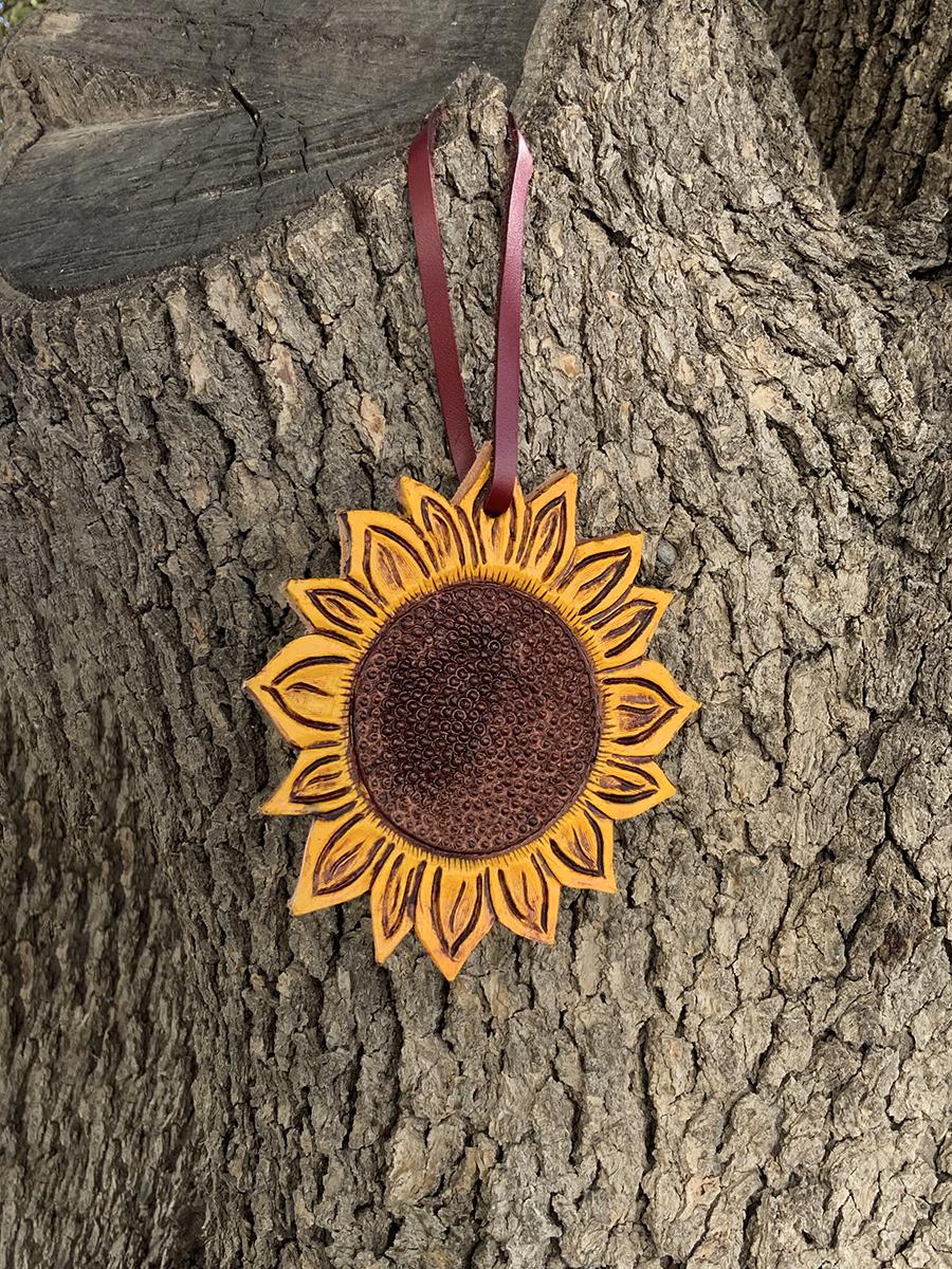 108-SUN Charm sunflower tooling