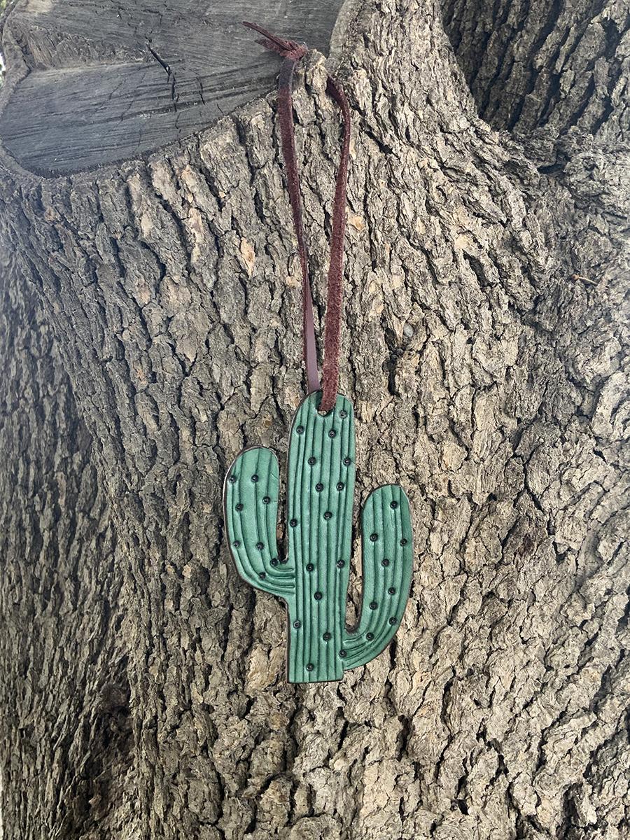 Charm turquoise cactus