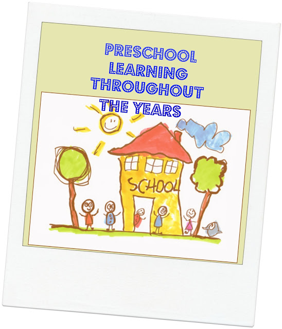 Preschool Learning Through The Years