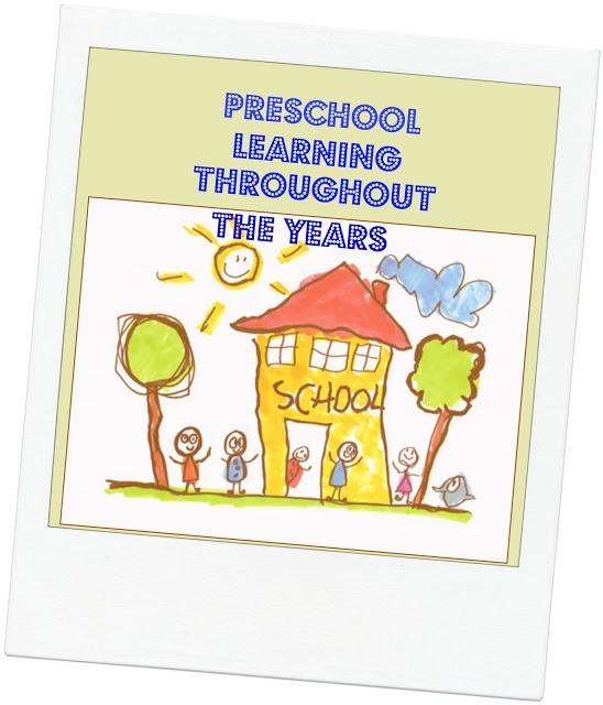 Preschool Learning Through The Years