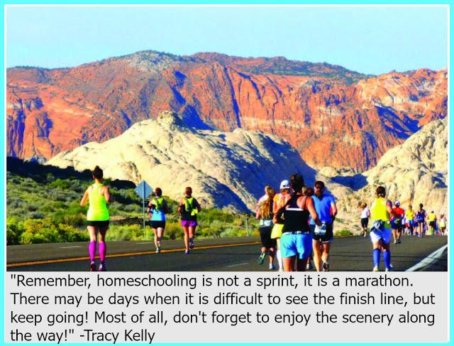 Homeschool Inspiration: Keep Going!