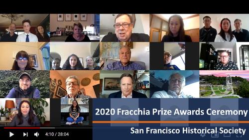 2020 Fracchia Prize Winners - 1st Place Winner: Winnie Quock; 2nd Place Winner: Indigo Mudbhary; 3rd Place Winner: Luke Zepponi