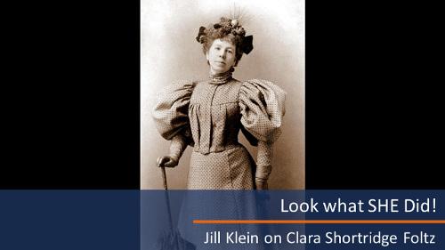 Clara Shortridge Foltz by Jill Klein - SFHS