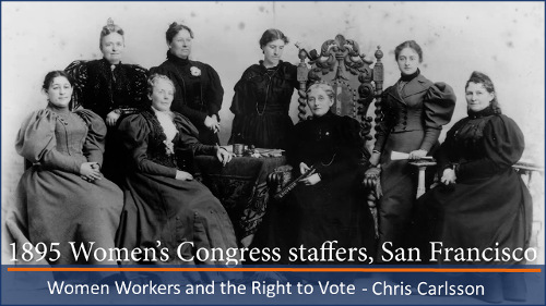 SF Women Workers and the Right to Vote - SFHS