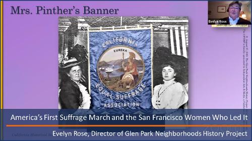 San Francisco First Suffragette March
