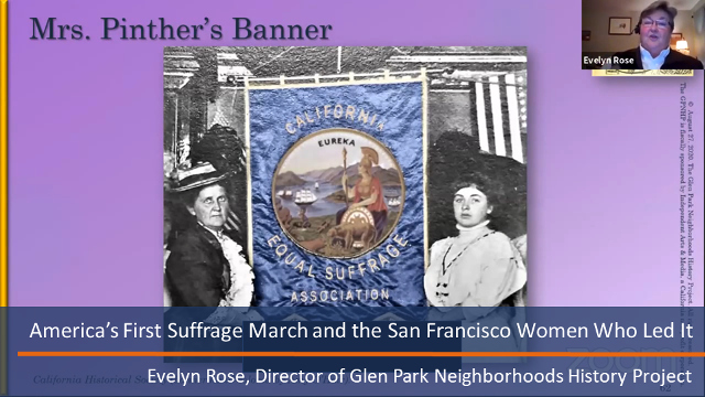 San Francisco Suffragette March